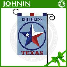 Custom Hanging God Bless Texas House Decorate Garden Flag