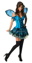 Sex Fantasy Fairy Dress Costume fairy tail cosplay Party Costume QAWC-2079
