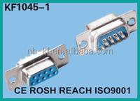 9p 15p 25p 37p 2 rows d-sub connector