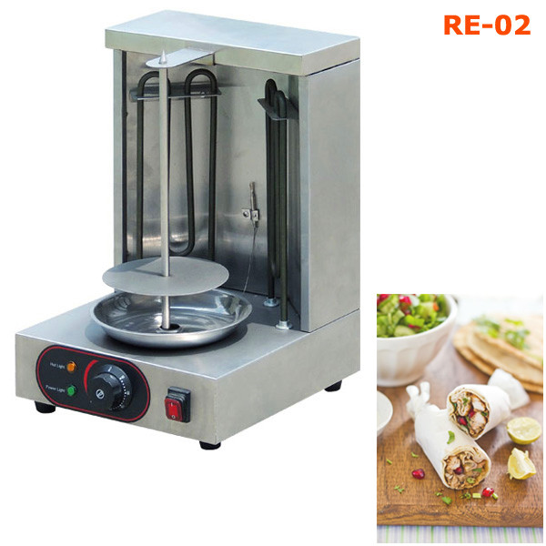 Electric Home Doner Kebaba Making Maker Shawarma Equipment Chicken ...