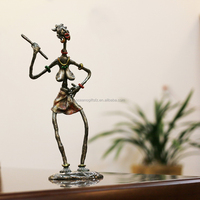 Home decor metal crafts African figurine