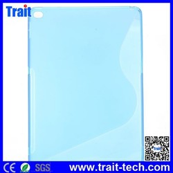 TPU Material Clear Transparent Crystal soft Tablet Case Back Cover Case for iPad Air 2,for ipad air 2 case