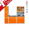 Knock down commercial Kitchen Cabinet Model / 2015 Direct factory made kitchen furniture