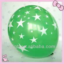 globos llenados con helio de impresión de cinco lados globo