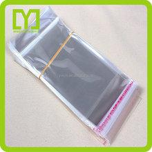 2015 new free sample best sale cheap chian supplier Opp cello plastic bag