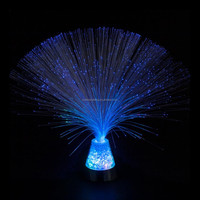 "13"" LED fiber optic light with Crystal"