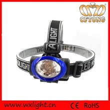 New style 3 models 1W surper bright led headlamp