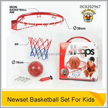 Iron Basketball Board Set For Kids With Basketball And Pump OC0202967