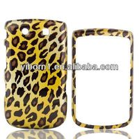 2015 Trending Hot Products Leopard Hard Snap on case for Blackberry Torch 9800
