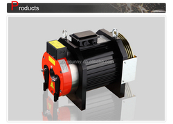 Alibaba china new products elevator part gearless traction machine