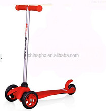 Dual Pedal Children Kick Scooter Kids Foot Scooter Three Wheel , Child Age Micro Scooter made in China