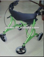 EMS-B509 Aluminum Rollator Walker with Wheels and Seat
