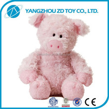 Hot sale new style OEM plush pig toy