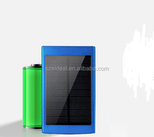 Hot Sale Portable Solar Power Bankfor iPhone/iPad/Mp3/Mp4/GPS