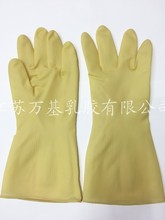 85 grams of white industrial latex gloves Resistance to acid and alkali beef tendon thickening rubber gloves