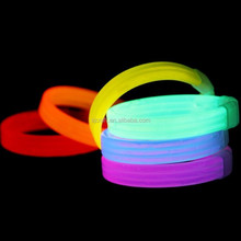 8''Party Supplies Light up Glow Sticks for Making Glow Bracelet, Necklace, Mix Neon Color SJ-GB02
