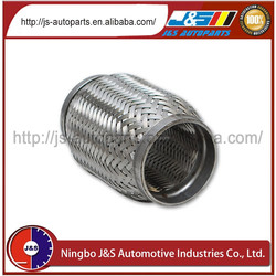 2.25``x4`` /57mmx100mm Double Braided Exhaust Flex pipe