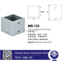 Stainless Steel Bathroom Pipe Connector, Shower Room Tube Holder, Shower Room Accessories