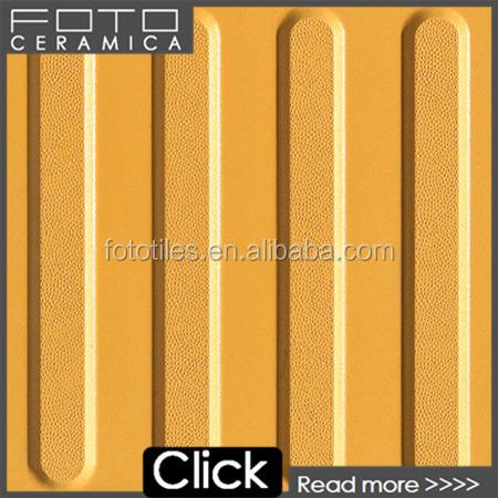 jaune tactile indicateurs 30 cm tactile ligne de carreaux de mosa que pour trottoir route pavage. Black Bedroom Furniture Sets. Home Design Ideas