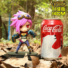 Customized League of Legends The Piltover Enforcer Vi Figure 14CM
