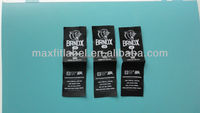 Custom clothing label high definition garment woven label private brand logo fabric label