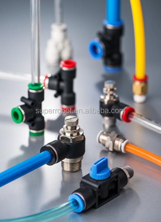 Пневматические трубные фитинги быстрого подключения-Мужской прямой g-резьба PL4-G03