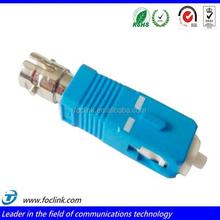 ST to SC PC Optic Adapter, Duplex Single Mode Fiber Optic Adapter