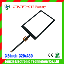 Factory cheap price 3.5 inch tft transparent lcd panel with 2 points touch