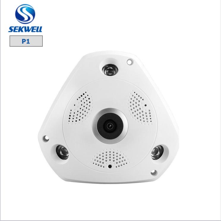 Fisheye <span class=keywords><strong>ip</strong></span> <span class=keywords><strong>camera</strong></span> con vista di 360 gradi panorama e ampio angolo di telecamera <span class=keywords><strong>ip</strong></span> wireless