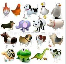 Hot selling walking animal balloons / air walking balloons / animal walking helium balloon