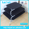 professional manufacture metal frame Pet dog bed outdoor dogs cot bed