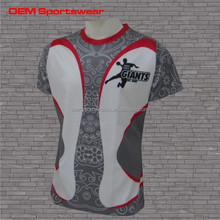 Sublimated rugby practice shirts custom rugby jerseys