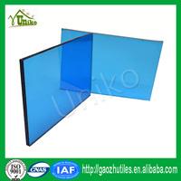Bayer Markrolon uv coated waterproof bulletproof soundproof twin wall hollow sheets for glazing