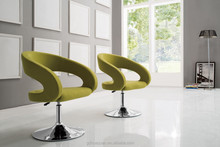 Modern cute swivel lounge chair,vistor chair for office CA711