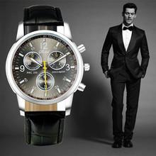 2015 New Quartz Casual Luxury Sports men Wrist Watch