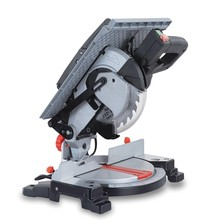 210mm Mini Table Saw / Compound Miter Saw with Upper Table for woodworking