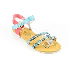 2015 popular flipflop leopard print little kids fancy latest design girls sandals