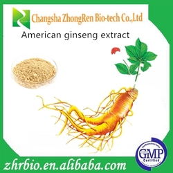 Manufacturer sales american ginseng root extract