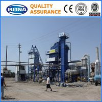 Hot aPPlied road tar modified modular low invest asphalt mixing plant