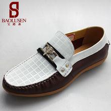 fabricante de la marca en <span class=keywords><strong>alibaba</strong></span> holgazán zapatos de los hombres