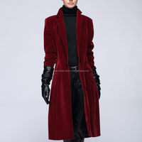 Fashion export real silk woolen coat for lady