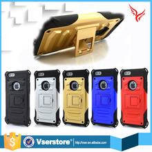 wholesale phone accessories of 4.7 inch 2 in 1 Armour metal case for iPhone 6 6s mobile phone case