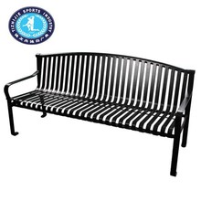Used park benches / vintage metal garden chairs / outdoor garden chair