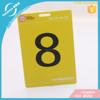 8.6x5.4cm Bussiness Card Printing Plastic PVC Visa Card