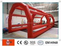 40 feet Giant Durable PVC tarpaulin baseball Inflatable Batting Cages for sale