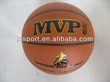 laminated eight pieces PVC basketball for wholesale