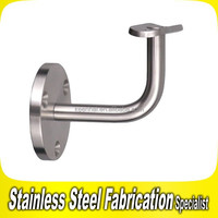 Stair Wall Stainless Steel Pipe Handrail Support Brackets