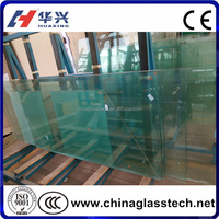 CE, CCC, ISO Shandong factory tempered glass shower screen price