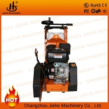 newest concrete or asphalt road cutter,cutting machine with honda gx160 engine and water tank