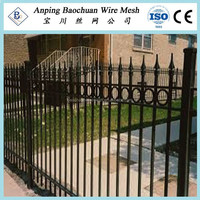 Australia standard pressed spear top security fence